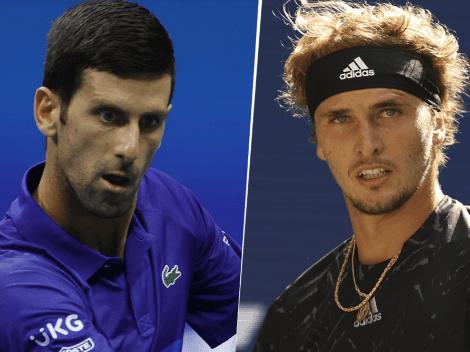 HOY | Novak Djokovic vs. Alexander Zverev EN VIVO por las semifinales del US Open: hora, TV y streaming
