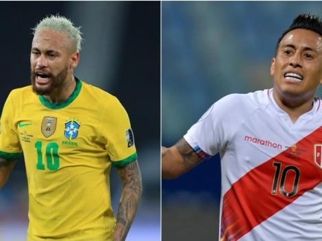 Brasil vence o Peru por 2 a 0 e segue firme nas Eliminatórias