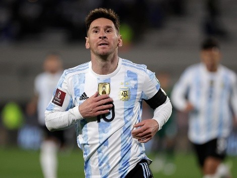 Messi marca o segundo para a Argentina e ultrapassa Pelé