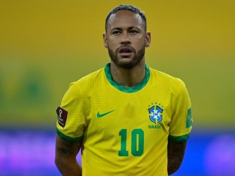 Neymar tuvo una dedicatoria especial tras el triunfo de Brasil sobre Perú
