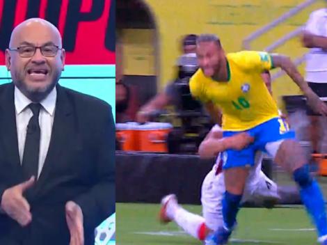 """'Mr. Peet' contra Anderson Santamaría: """"Intentó 'cancherear' ante uno de los mejores del mundo como Neymar"""""""