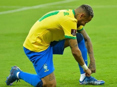 Neymar rompió otra marca: máximo goleador de Brasil en Eliminatorias