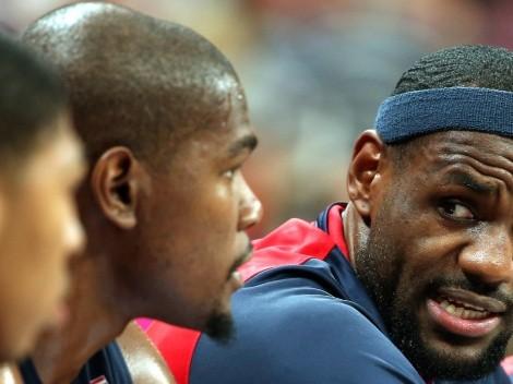 Kevin Durant usó a LeBron James como meme y Twitter explotó