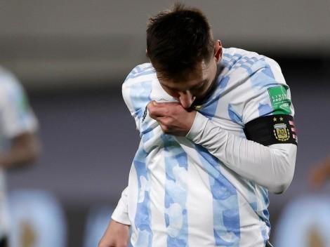 No paran de extrañarlo: el tuit de Barcelona para Messi por su récord en la Selección