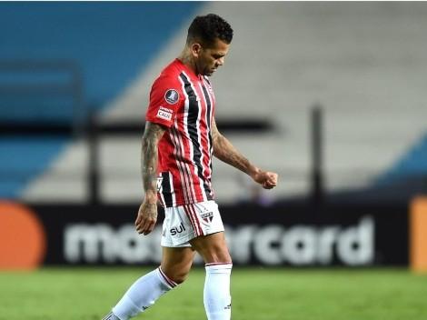 Dani Alves se va de Sao Paulo: ¿dónde jugará ahora?