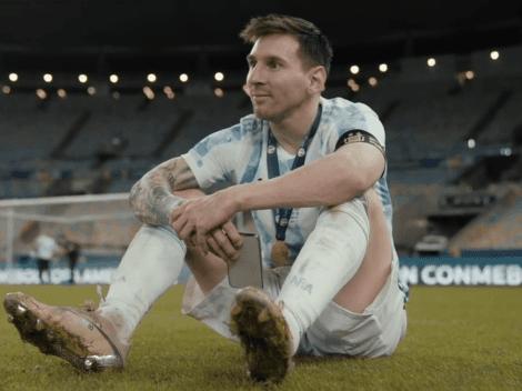 """""""Coronados de Gloria"""": el documental de  Argentina campeón de la Copa América"""