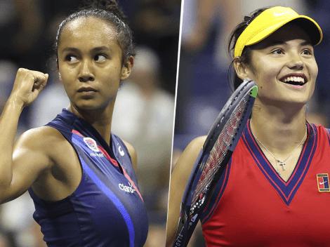 Dónde ver Leylah Fernández vs. Emma Raducanu | Día, hora y TV para mirar EN VIVO la final del US Open femenino