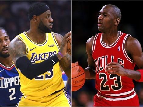No es LeBron: El jugador de la actualidad más parecido a Jordan