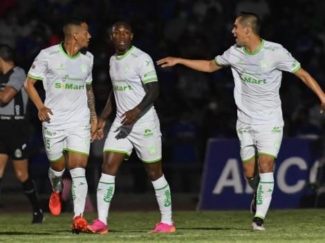 Passerini anotaba un golazo para Cruz Azul, pero Juárez reaccionó con Pol García