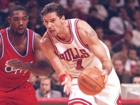 Toni Kukoc habló de su opinión sobre Michael Jordan en los Chicago Bulls