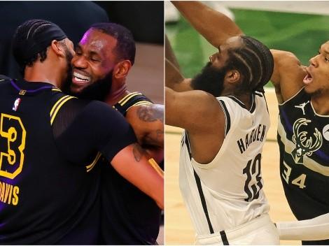Élite NBA: Los únicos 4 jugadores All-Star en las últimas 5 temporadas