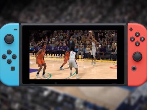NBA 2K22 da un primer vistazo a su versión de Nintendo Switch