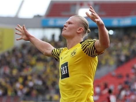 Doblete de Haaland en éxito de Borussia Dortmund ante Leverkusen