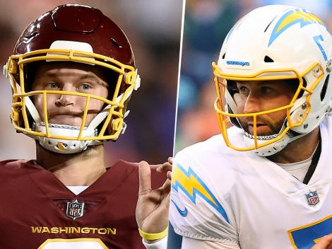 Washington Football Team vs. Los Angeles Chargers EN VIVO ONLINE: Pronóstico, fecha, horario, streaming y canal de TV para ver EN DIRECTO la Semana 1 de la NFL 2021