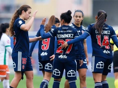 Universidad de Chile Femenino golea por 8-0 a Cobresal Femenino