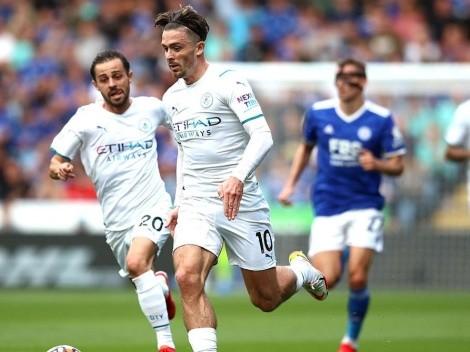 Manchester City no le pierde pisada al líder United: venció por la mínima a Leicester