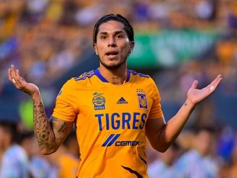 Los fanáticos de Tigres hacen tendencia a Salcedo tras sus fallos ante León