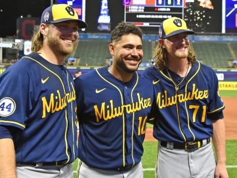 Milwaukee Brewers completaron juego sin hit ni carrera y establecieron nuevo récord en MLB