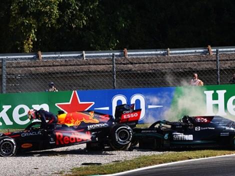 Checo Pérez no sacó todo el provecho del incidente que dejó fuera de carrera a Verstappen y Hamilton