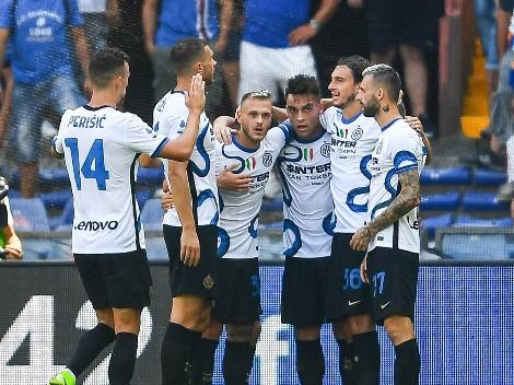 Sigue de racha: Lautaro metió un golazo para el empate del Inter