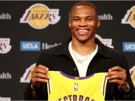 Lo último de Lakers: Russell Westbrook viste una falda y causa sensación en redes