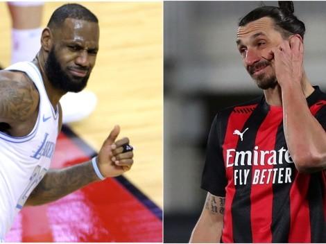 Ibrahimovic vuelve a hablar sobre LeBron y revive polémica entre ambos