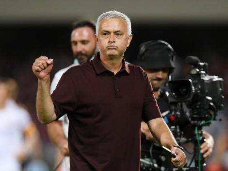 Con el sello de Mourinho: el gol de Roma de jugada preparada