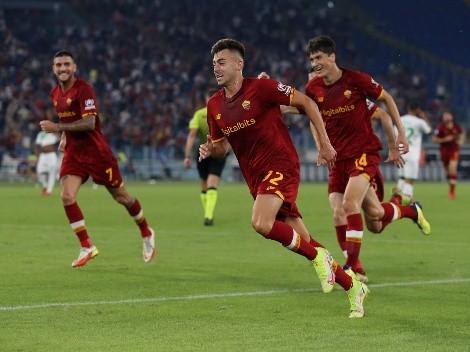 Roma encontró el triunfo en el final con una increíble definición de El Shaarawy