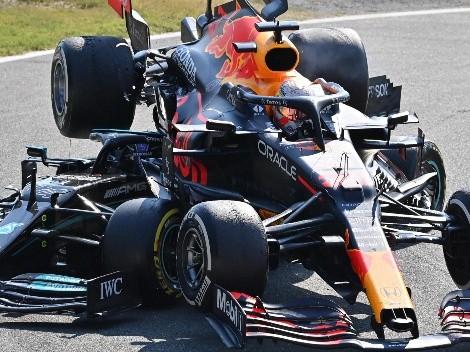 Hamilton y Verstappen se criticaron duro tras el GP de Italia