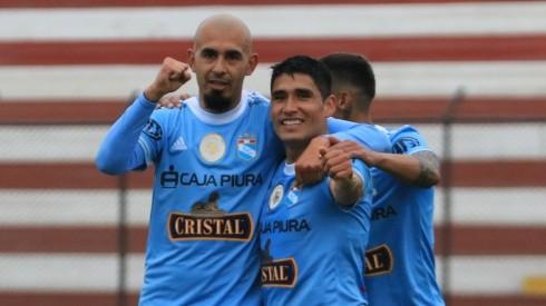 Marcos Riquelme anotó sorprendente golazo en el Sporting Cristal ante Alianza Atlético