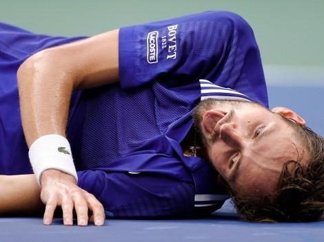 US Open: Daniil Medvedev salió campeón y celebró como en el FIFA