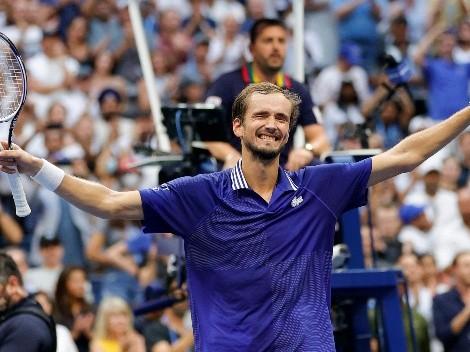Sin palabras: Daniil Medvedev se corona campeón del US Open