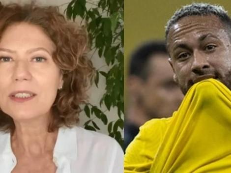 Neymar rebate critica de Patrícia Pillar sobre declaração de Pelé