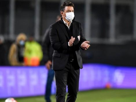 La mejor noticia: Gallardo recupera a Biscay en el partido ante Newell's