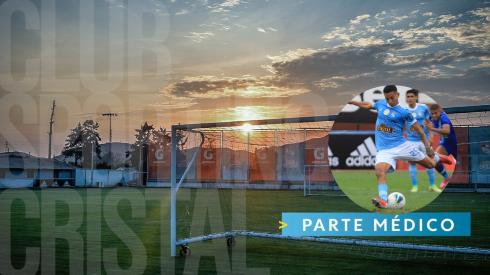 Lo hacen oficial: Sporting Cristal brindó el parte médico de la complicada lesión de Martín Távara
