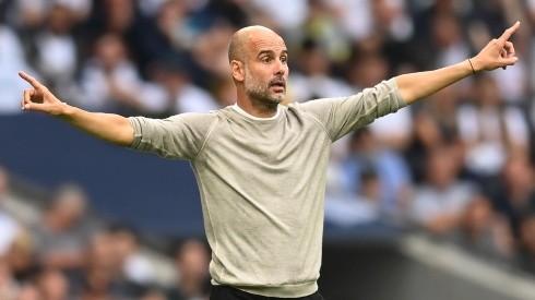 Manchester City boss Pep Guardiola. (Getty)
