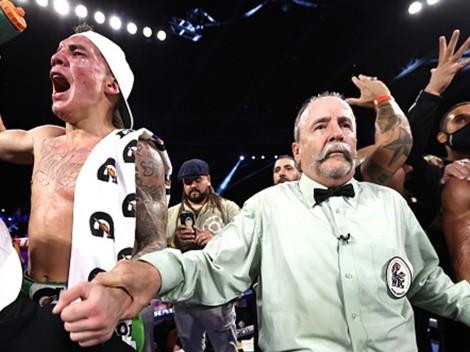 Oscar Valdez vs Robson Conceicao: la disculpa del juez que puntuó 117-110