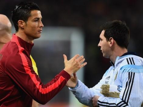 Quanto falta para que Cristiano Ronaldo e Messi cheguem aos mil gols em suas carreiras?