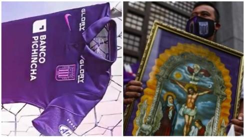 ¡De lujo! Alianza Lima presentó su nueva camiseta en homenaje al Señor de los Milagros
