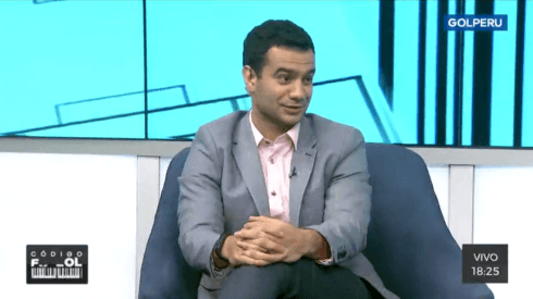Maxi Mendaña es comentarista en Gol Perú.