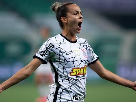 Corinthians sai na frente na final do Brasileirão Feminino