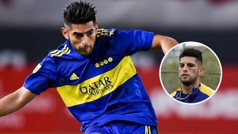 ¡Irreconocible! Carlos Zambrano volvió a entrenar con Boca Juniors tras su lesión en el rostro