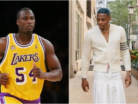 Exjugador de Lakers destruye a Westbrook por vestirse con falda
