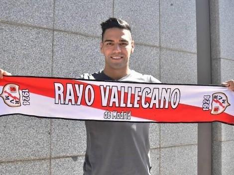 Inesperado: el dorsal que llevará Radamel Falcao en el Rayo Vallecano