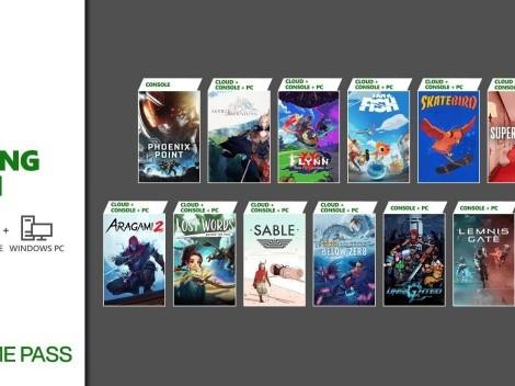 Xbox revela 13 games que chegarão no Game Pass, incluindo Aragami 2, Sable e Lemnis Gate