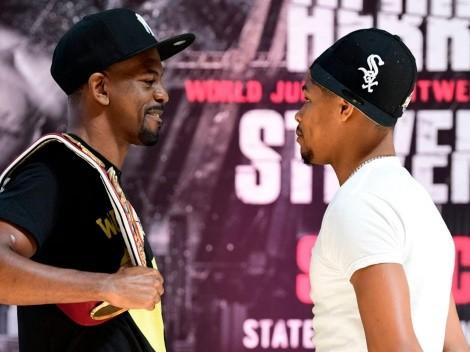 Jamel Herring aseguró que Shakur Stevenson es mucho mejor de lo que demostró en su última pelea