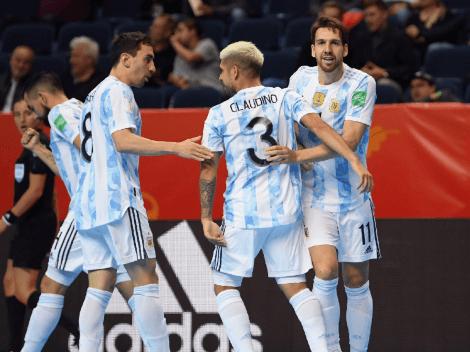 El antecedente que ilusiona a la Selección Argentina en la final del Mundial de Futsal