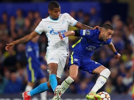 Una fiera suelta en Londres: show de Barrios contra el Chelsea en la Champions