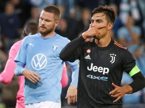 Juventus goleó en su visita a Malmo