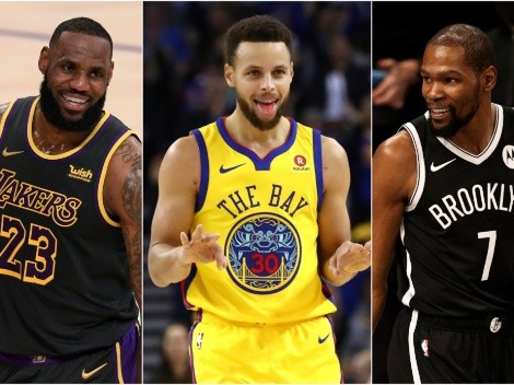 Curry, el más fiel: Las estrellas que cambiaron de equipo para ir por un título